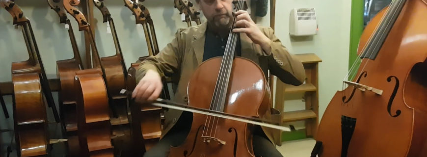 Musical matchmaking : cellist Richard Tunnicliffe talks about his new Yann Besson cello